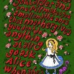 Illustration: Alice meets Jefferson Airplane