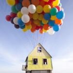 """Getestet: Ein Haus mit Luftballons, inspiriert durch """"Up"""""""