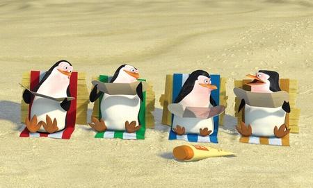 Pinguine aus madagascar kriegen eigenen film