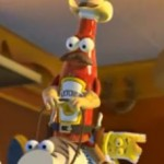 The Simpsons: Triplettes de Belleville, Toy Story und Persepolis Parodien