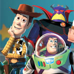 """Fundstück: Woody aus """"Toy Story"""" klammert"""