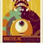 "Mondo-Poster zu Pixars ""Monsters, Inc."""