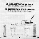 """""""12 Drawings a Day – 12 Zeichnungen pro Tag"""" von Denis Chapon"""
