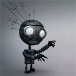 Clip zur Tim Burton Ausstellung in Paris