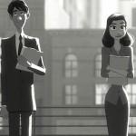"""Disneys """"Paperman"""": Die ersten Szenenbilder & Blick hinter die Kulissen"""