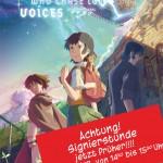 Zur Erinnerung: Makoto Shinkai am 9. Juli 2012 in Hannover