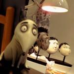 Besuch der The Art of Frankenweenie Ausstellung