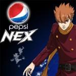 Pepsi Nex Werbung mit Cyborg 009 Figuren
