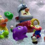 """Zwei Bilder aus Pixars """"Partysaurus Rex"""""""