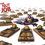 Poster: Kanadisch-koreanischer Animationsfilm The Nut Job