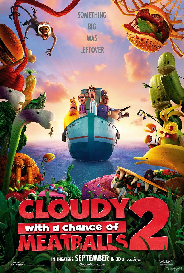 Poster zu Cloudy With Chance Of Meatballs 2