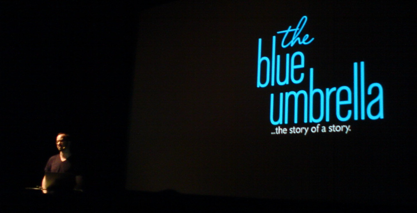 The Blue Umbrella Weltpremiere