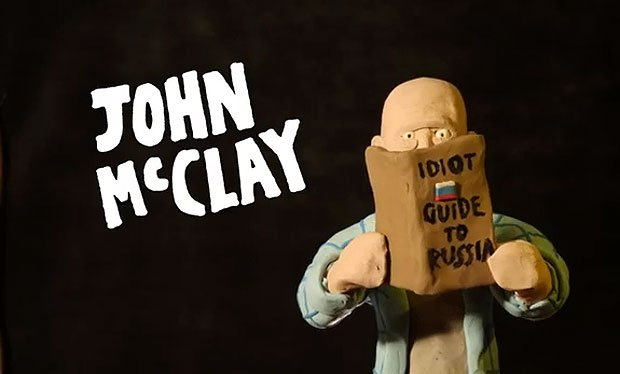 John McClay in A Good Clay to Die Hard
