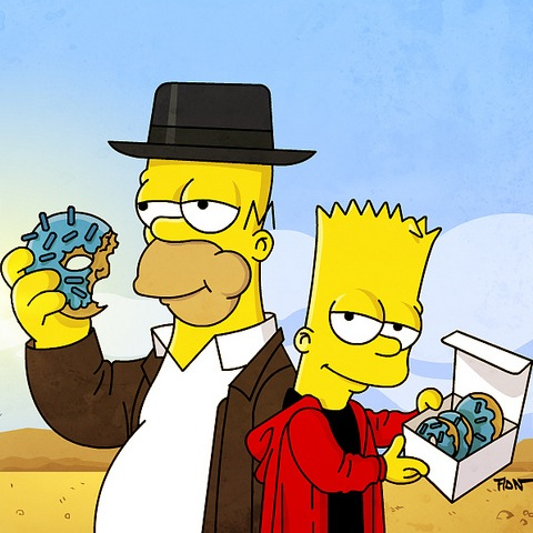 Couch Gag Breaking Bad