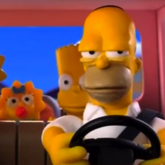 Simpsons Couch Gag in Stop-Motion