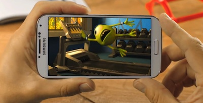 Samsung Pixar Monster Uni Werbung