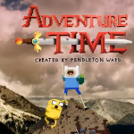 Adventure Time-Intro in LEGO