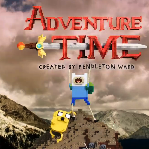 Adventure Time Intro aus LEGO