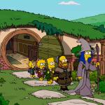 Noch ein Simpsons Couch Gag: Der Hobbit in Springfield