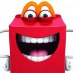 McDonalds mit neuem Maskottchen Happy