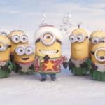 Minions Weihnachtsgruss