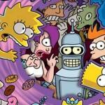 Futurama-Simpsons-Crossover