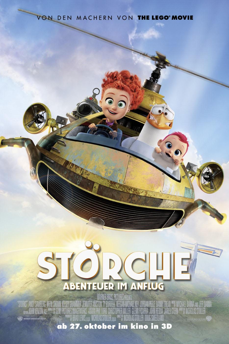 Storks Trailer Deutsch