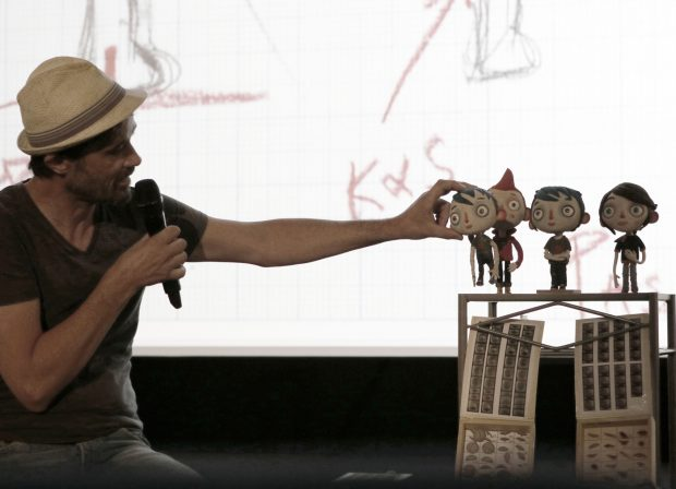 "Claude Barras präsentiert ""Ma Vie de Courgette"", ©Pit / Anidrom - Animation News"