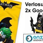 Verlosung: LEGO Batman Goodie Paket